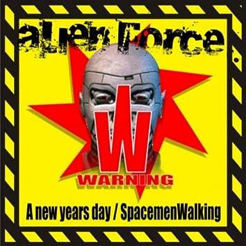 Spacemen Walking