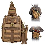 BLISSWILL Fishing Backpack Outdoor Tackle Bag Large Fishing Tackle Bag Water-Resistant Fishing...