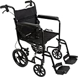 ProBasics Aluminum Transport Wheelchair With 19 Inch...