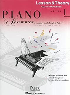Piano Adventures All-in-Two Level 1 Lesson/Theory: Lesson & Theory - Anglicised Edition