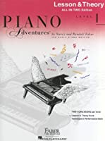Piano Adventures: Lesson And Theory Book - Level 1 (Book Only) (Faber Piano Adventures)