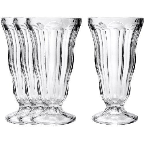 Classic Soda Fountain Glasses
