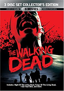 The Walking Dead, 9 Movies: The Night Evelyn Came out of the Grave / The House by the Cemetery / Fangs of the Living Dead ...