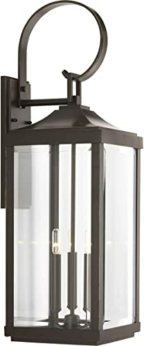 high quality Gibbes Street Collection online Antique Bronze Three-Light Traditional outlet online sale Large Wall Lantern sale