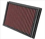 K&N 33-2877 Filtro de Aire Coche, Lavable y Reutilizable