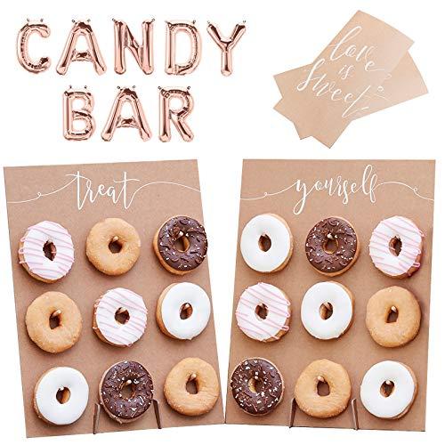 Juego de 23 piezas de decoración de candy-Bar / tarta de Bufet...