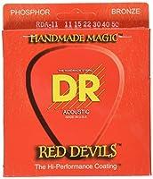 DR EXTRA-Life RED DEVILS アコースティックギター弦 DR-RDA11