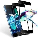 【浮かない】 iphone se2 ガラスフィルム 全面 保護フィルム iphone SE 2020 専用 フィルム iphonese2 保護ガラス iphonese 第二世代 ガラスフィルム【発売後開発版/9H硬度/貼り付け簡単/気泡ゼロ/割れない/2枚セット】