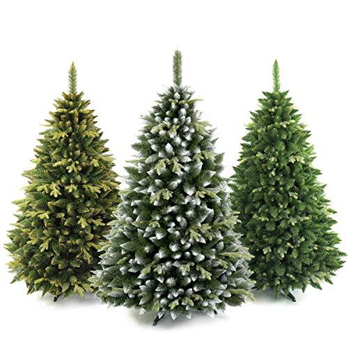 AmeliaHome 07898 180 cm Künstlicher Weihnachtsbaum PVC Tannenbaum Christbaum Kiefer Diana Weihnachtsdeko