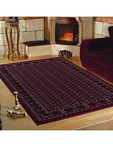 Carpet 1001 Tapis de Salon Oriental Classique Marrakech Rouge - 80x150 cm