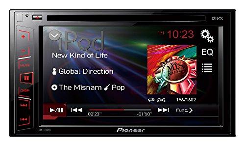 Pioneer AVH-170DVD Mediacenter mit Touchscreen (6,2 Zoll / 15,7 cm), CD/DVD-Player, USB, Aux-Eingang, Video-Ausgang