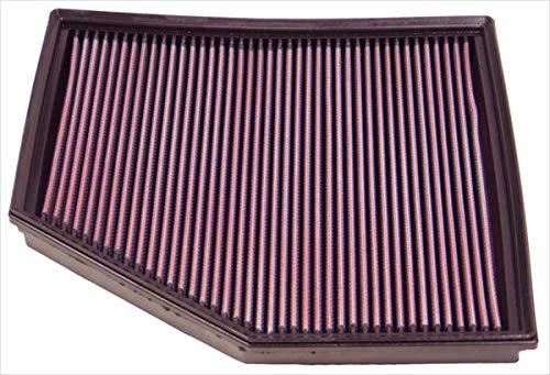 K&N 33-2294 Motorluftfilter: Hochleistung, Prämie, Abwaschbar, Ersatzfilter, Erhöhte Leistung, 2003-2011 (650i, 520i, 540i, 550i, 545i, 645Ci)