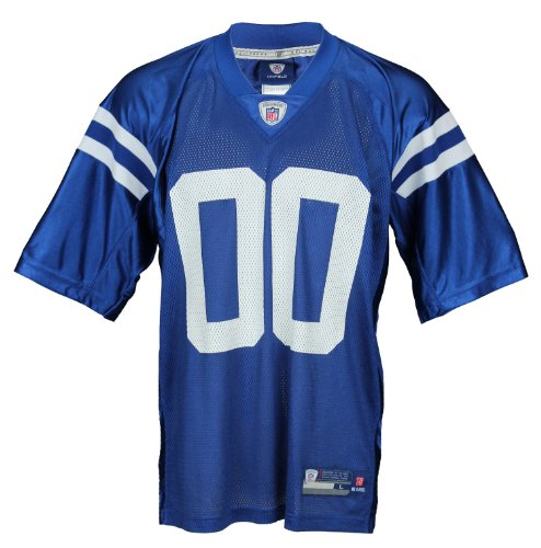 Indianapolis Colts NFL Men's Team Replica Jersey, Blue (XX-Large)