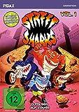 Street Sharks, Vol. 1 / Die ersten 13 Folgen der Zeichentrickserie mit beiden deutschen...