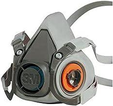 3M herbruikbaar halfmasker 6200M (masker zonder filter), maat M, adembescherming, 1 stuk