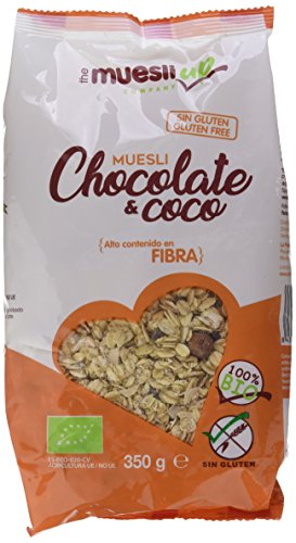 Muesli con chocolate y coco gluten free BIO - The Muesli Up - 350g