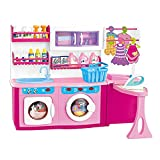 MeeYum Pretend Play Mini Wash, Dry and Iron Laundry Set