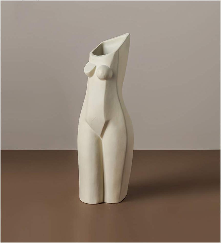 Human Body 品質検査済 初売り Geometric Ceramic Vase Female Li Art Shape