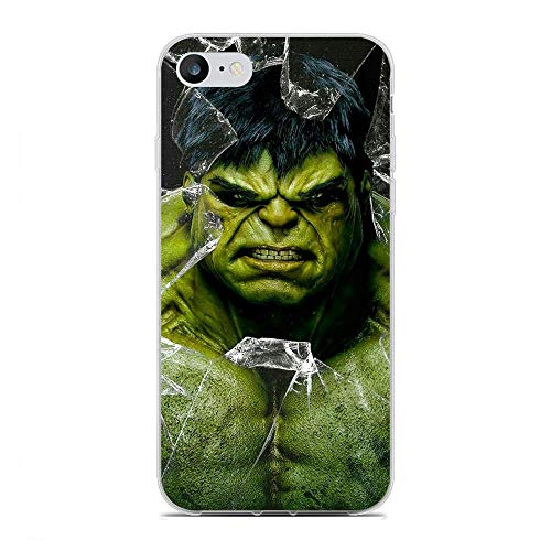 Junic Lightweight Clear Coque TPU Soft Rubber Case Shockproof Cover Shell for Apple iPhone 7/8/SE 2020-Avengers-Superhreo 6