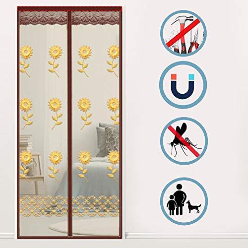Schermgordijn Magnetic, Heavy Mesh Curtain Geen lawaai, automatisch gesloten, Anti Energy Loss Ruis reduceren, for de woonkamer/Patio/glazen schuifdeur/Vissersboot/boerderij
