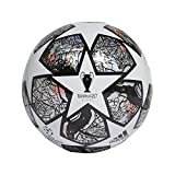 adidas Fin IST TRN Ballons Match Football Men's, White/Multicolor/Black/Solar Red, 5