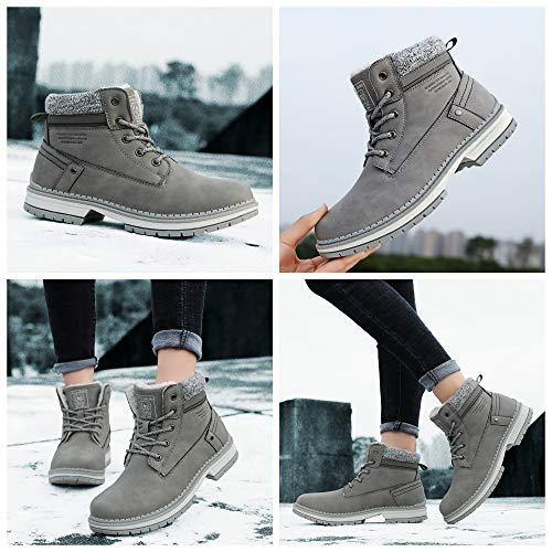 ARRIGO BELLO Hombre Botas Botines Zapatos Invierno Botas de Nieve C/álido Fur Forro Aire Libre Boots Urbano Senderismo Esquiar Caminando 41-46