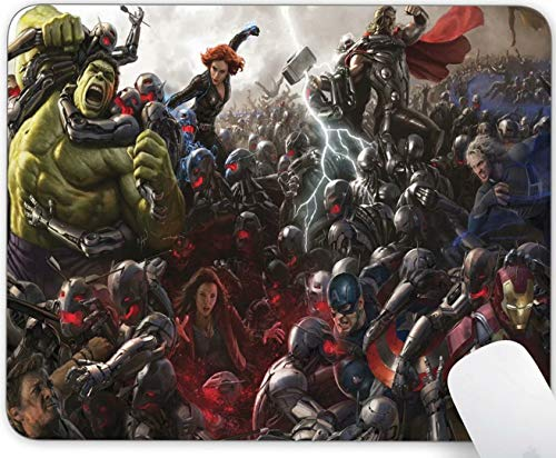 Mavel Avengers Mouse Pad Non-Slip Gaming Customized Mousepad Rubber Mousepads for Computers Laptop Office Mousepads for Computers Laptop Office Mousepads for Computers Laptop Office