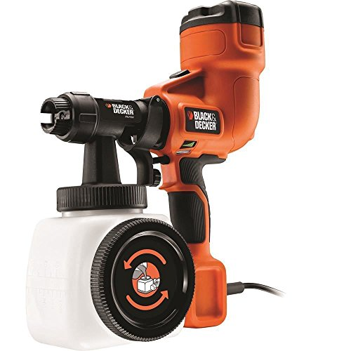 BLACK+DECKER HVLP400C-IT Pistola a spruzzo per interni...