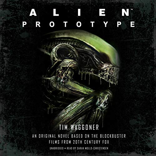 Alien: Prototype audiobook cover art