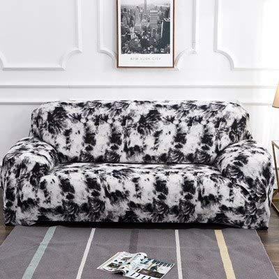 Patrón de teñido por Salpicaduras Funda de sofá Funda de sofá para sofá Toalla Muebles de Sala de Estar Sillón Protector sofás A12 2 plazas