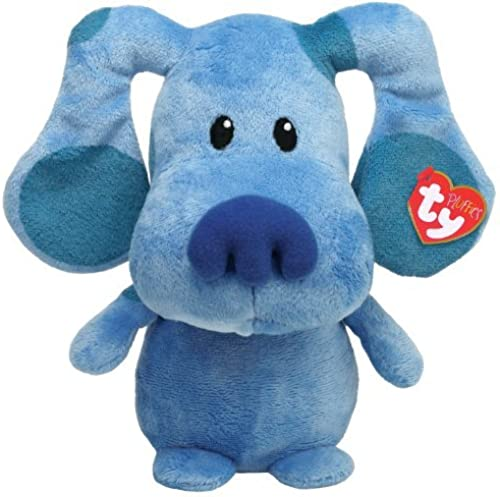 Ty Pluffies Blau Blau's Clue Nickelodeon Plush Soft Toy Blau by Ty Pluffies