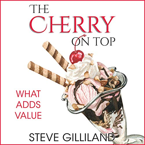 The Cherry on Top audiobook cover art