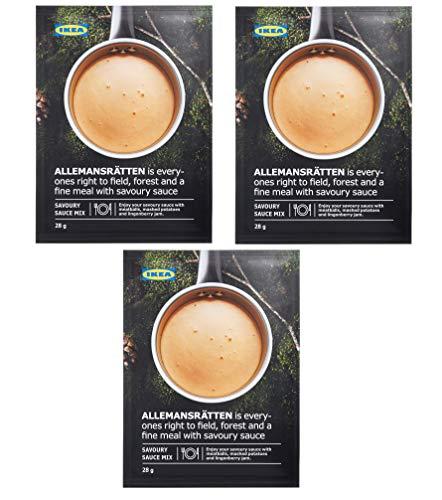 IKEA ALLEMANSRATTEN Cream Sauce Mix For Meatballs 28g (Pack of 3)