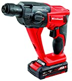 Einhell Trapano a percussione a batteria TE-HD Kit 18 Li Power X-Change, Li-Ion, 18 V, 1100 min-1, 1.2 J, 9,9 Nm, max. calcestruzzo 12 mm, custodia, incl. batterie 1,5 Ah, 4,0 Ah e caricabatterie