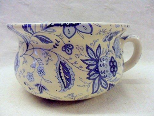 décoratifs Motif Persia Bleu Pot de chambre Pot de fleurs