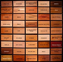 "This combo pack will have 6 Cherry, 6 Walnut, and 6 Maple boards Each board will be 3/4"" x 2"" x 16"" All kiln dry, smooth, and ready to use You'll get a total of 18 boards All of these boards are cut and milled by the Amish of northern Wisconsin. When..."