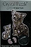 HCM Kinzel GmbH 59127 HCM Kinzel Jeruel 59127-Crystal Puzzle, Katzenpaar