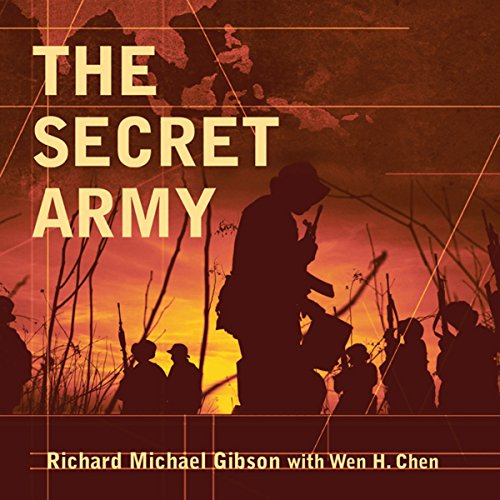 The Secret Army audiobook cover art