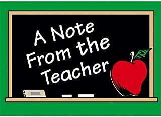 Teacher Created Resources A Note By Teacher Postcards (1202)