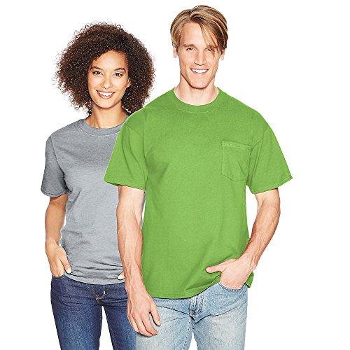Hanes BEEFY-T Adult Pocket T-Shirt