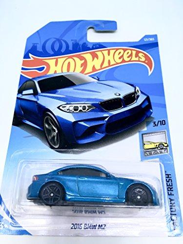 Hot Wheels 2018 50th Anniversary Factory Fresh 2016 BMW M2 121/365 , Blue