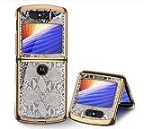 Hülle® 9H Gehärtete Glasmalerei Handyhülle Anti-Kratzer Kompatibel für Motorola Razr 5G/Motorola Razr 2 (25)