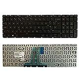 YUHUAI Teclado de repuesto para ordenador portátil HP Pavilion TPN-C125 TPN-C126 15-AC 15-AF 15-AY 15-BA 250 G4 255 G4 256 G4 UK Layout