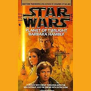 Star Wars: Planet of Twilight                   By:                                                                                                                                 Barbara Hambly                               Narrated by:                                                                                                                                 Anthony Heald                      Length: 3 hrs and 1 min     8 ratings     Overall 3.5
