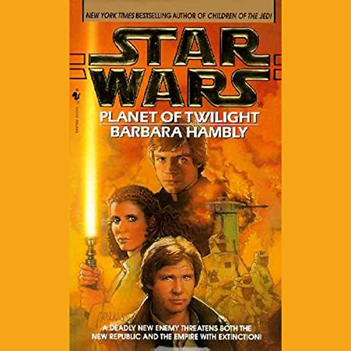 Star Wars: Planet of Twilight audiobook cover art