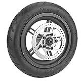 Neumático trasero de scooter eléctrico, neumático de rueda trasera, con buena flexibilidad y capacidad de amortiguación, buen agarre, a prueba de pinchazos, prevención de explosiones, para scooter elé