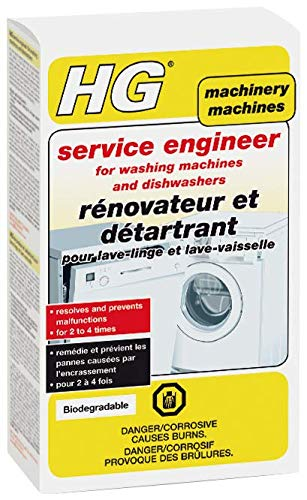 HG 248020106 service engineer for washing machines and dishwashers 2 x 100gr - A special cleaner and descaler developed in co-operation with professional repairmen., Multi