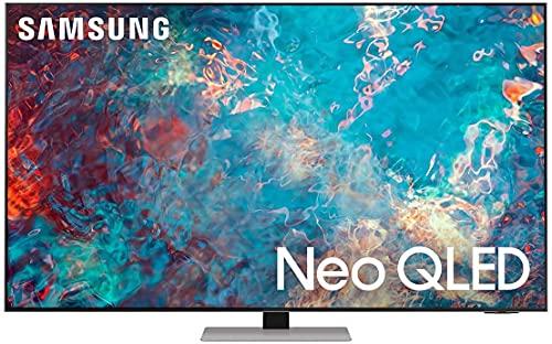 "Samsung Neo QLED 4K 2021 65QN85A - 65"" Smart TV, Risoluzione 4K UHD, Tecnologia Quantum Matrix, Processore Neo QLED 4K con IA, Quantum HDR, OTS [Efficienza energetica classe F]"