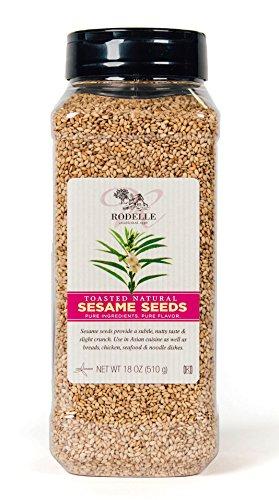 Toasted Sesame Seeds, 18 Oz