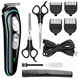 JALIYA Hair Clipper for Men Professional Cordless Clippers Rechargeable Electric Hair Trimmer Beard